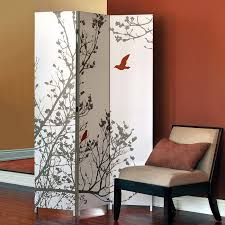Room Dividers Pretty Freestanding Room Dividers Inspiration Features Plant Print