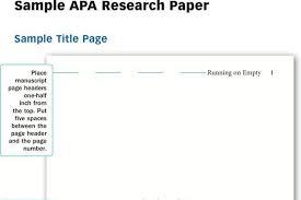 apa sample essay paper research paper outline format apa sample