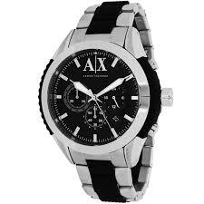 armani exchange black friday armani exchange men u0027s ax1214 two tone stainless steel quartz watch