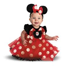 disney red minnie mouse infant costume buycostumes com