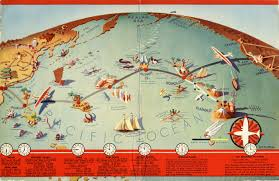 Us Map With Time Zones Design Is Fine History Is Mine U2014 J P Wittlig Route Map 1937