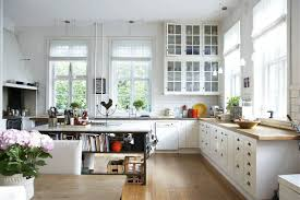 Kitchen Cabinet Glass Glass Doors Archives Country Kitchen Farmhouse Kitchen Rustic