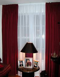 makeovers and cool decoration for modern homes drapes for living