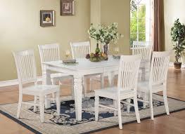beachcrest home pennington 7 piece wood dining set u0026 reviews wayfair