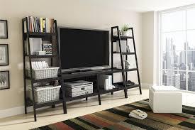 amazon com ameriwood home lawrence 4 shelf ladder bookcase bundle