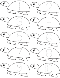 count turtle math math coloring pages coloring pages for kids