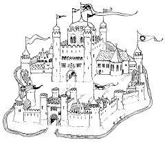 castle coloring