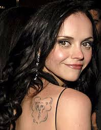 Celebrity Tattoos - Christina Ricci