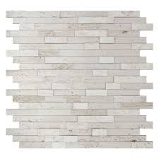 Wall Tiles Kitchen Backsplash by Inoxia Speedtiles Himalayan 11 75 In X 11 6 In Stone Adhesive