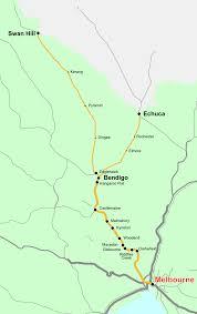Bendigo railway line