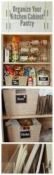 How To Organize Your Kitchen Cabinets by Organize Your Pantry