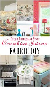 Diy Home Projects by Diy Projects With A Yard Of Fabric Our Southern Home