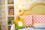 Kids Bedroom: Chic Toddler Girl Room Decor With Pink White ...