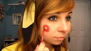 pikachu halloween costume and makeup youtube