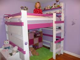 Girls Kids Beds by Loft Bed For Girls Solar Design