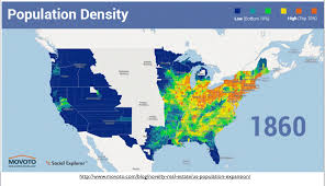 Population Density Map United States by The Regionalization Of California Part 1 Geocurrents