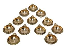 buy ma design hut brass kuber diya brass deepak diwali pooja item