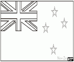 flags countries oceania coloring pages printable games 2