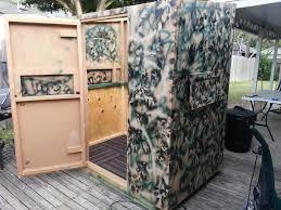 homemade deer blinds modular 4x6 blind texas hunting forum