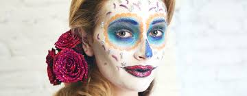 The 15 Best Sugar Skull Makeup Looks For Halloween Halloween by Sugar Skull Makeup An Easy Tutorial For Day Of The Dead Glamour