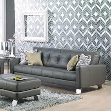 Palliser Alula Ocean Drive Genuine Leather Sofa Humble Abode