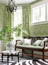 idyllic home living room wall decor integrates gorgeous green