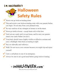 Halloween Printable Activities Halloween Safety Rules To Print Out U003e Find More Halloween
