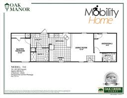 stunning 3 bedroom single wide mobile home floor plans with