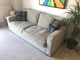 Chesterfield Sofa Sydney by Grey 3 Seater Sofa Sydney From Harveys In Larkfield Kent Gumtree