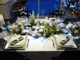 nature et deco décoration de ma table de noël blanc et nature chez ale