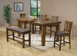 Counter Height Dining Room Tables by Amazon Com Acme 00845 Morrison Counter Height Table Oak Finish