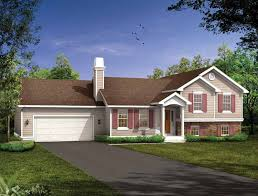 Hip Roof Ranch House Plans Split Level House Plans At Eplans Com House Design Plans