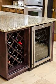 dining room cabinet with wine rack home design ideas