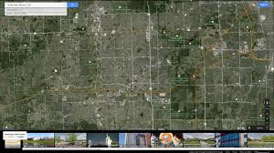 Google Maps Illinois by Tinley Park Illinois Map