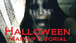 quick easy scary halloween makeup tutorial youtube