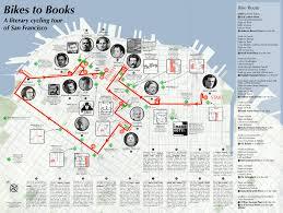 San Francisco Bart Map Bikes To Books Map Burrito Justice
