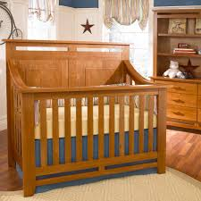 Nadia 3 In 1 Convertible Crib by Heartland Lifetime Convertible Crib In Cherry Wood Finish And A