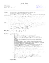 Sap Mm Sample Resumes by Business Objects Resume Sample Haadyaooverbayresort Com
