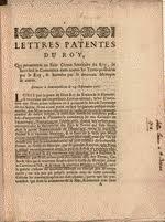 Louis XIV  King of France  Lettres Patentes du Roy  Qui permettent au Sieur Crozat Secretaire du Roy  de faire feul le Commerce dans toutes les Terres     Library of Congress