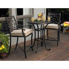 Wood Patio Furniture Sets - dining room marvelous outdoor bistro set create enjoyable outdoor