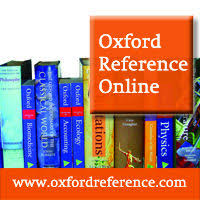 Oxford Reference Online image