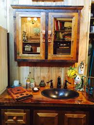 rustic bathroom vanities u2014 barn wood furniture rustic barnwood