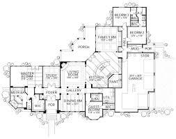 european style house plan 4 beds 3 baths 3336 sq ft plan 80 194