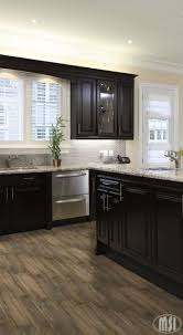 Kitchen Cabinet Top Decor by Best 25 Dark Kitchen Cabinets Ideas On Pinterest Dark Cabinets