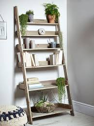 Build Wooden Shelf Unit by Best 25 Ladder Shelves Ideas On Pinterest Ladder Desk Desk