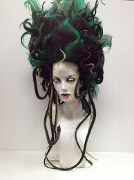 Sea Monster Halloween Costume by Medusa Wig Halloween