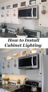 Upper Kitchen Cabinet Ideas 25 Best Cabinet Lighting Ideas On Pinterest Under Counter