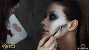 Halloween Makeup Application by Zombie Makeup How To Flapper Zombie Part 3 Halloween Makeup