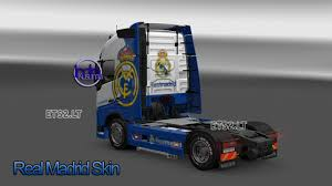 volvo group trucks volvo fh16 real madrid skin ets 2 mods