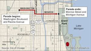 Grant Park Chicago Map by Guide To The Blackhawks Stanley Cup Celebration Chicago Tribune